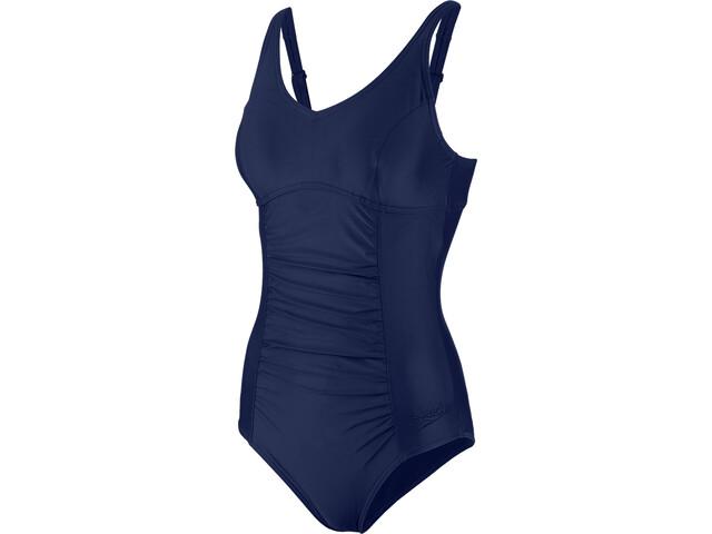 speedo Vivienne Clipback Swimsuit Dame navy